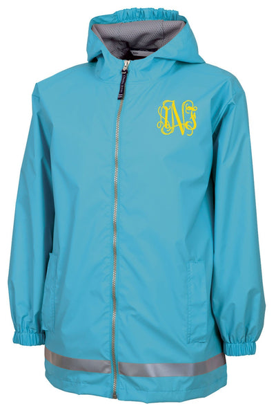 Charles River Youth New Englander Wave Rain Jacket *Customizable! (Wholesale Pricing N/A)