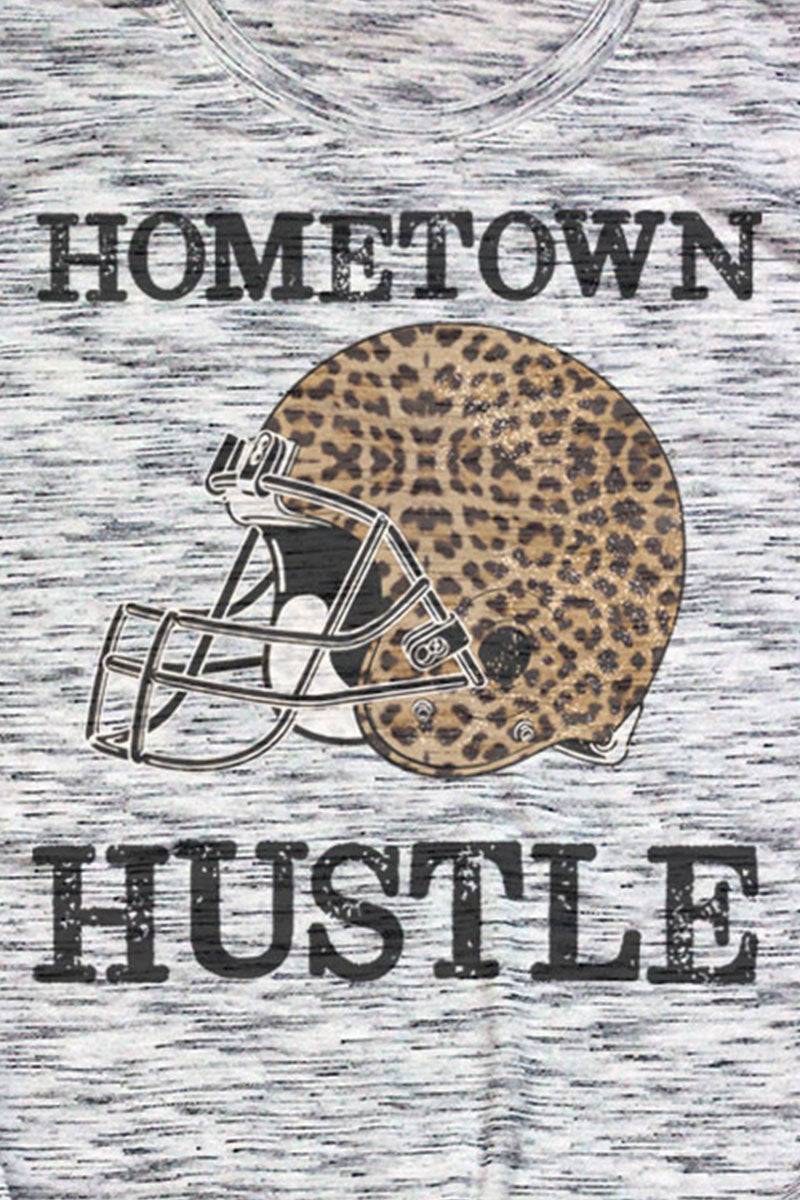 Hometown Hustle Unisex White Marble Short Sleeve Tee