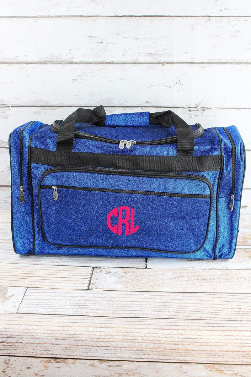 NGIL Royal Glitz & Glam Duffle Bag with Navy Trim 23""
