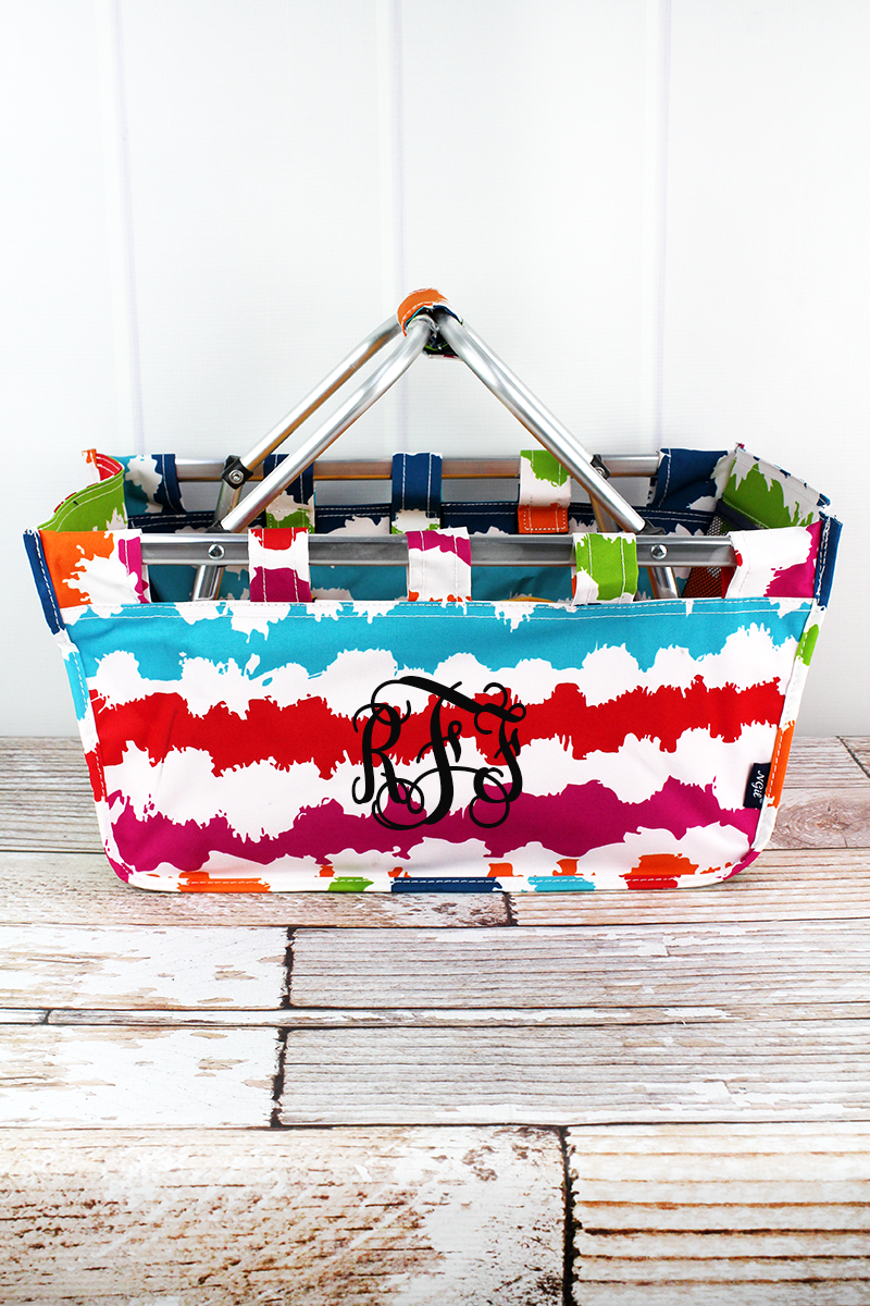 NGIL Summer Vibes Collapsible Market Basket