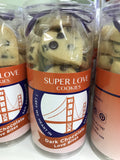 I left my heart in san francisco heart shaped cookies packaged