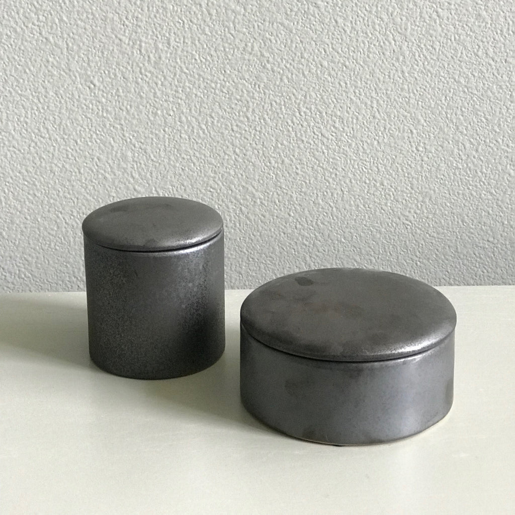 GRAPHITE CERAMIC BOX