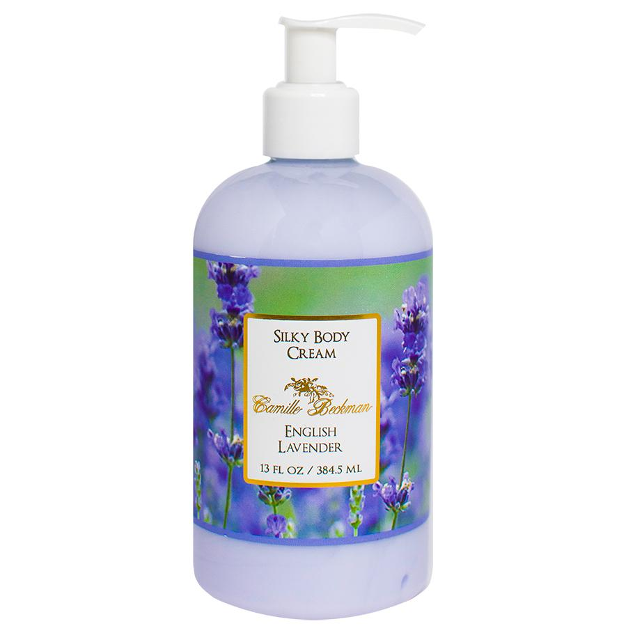 Silky Body Cream 13oz English Lavender (6/case)