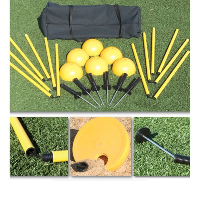 Athletic Connection Indoor/Outdoor Agility Pole System