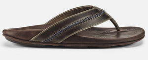 Olukai Mea Ola Mens Sandals - Dark Shadow Mustang SURF WORLD