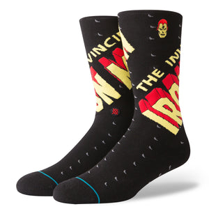 Stance Invincible Iron Man Socks (Large 9-12) - Black SURF WORLD