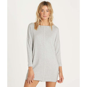 Billabong Only One Dress - Athletic Grey SURF WORLD