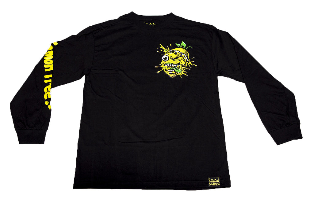 Lemon Tree Splat Long Sleeve