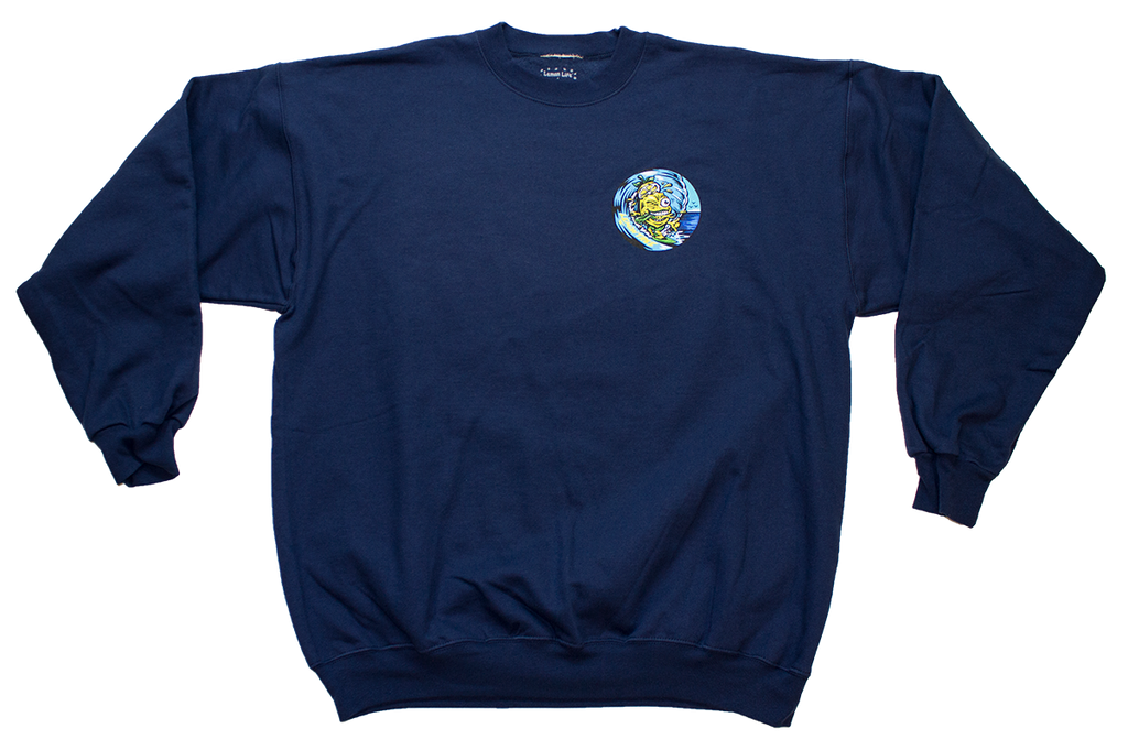 Lemon Life Surfer Crewneck - The Lemon Tree