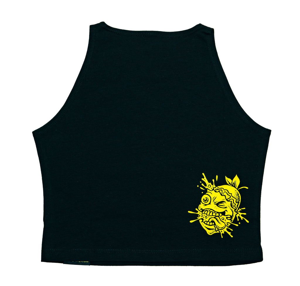 Lemon Life Crop Top - Dripping Tree - The Lemon Tree