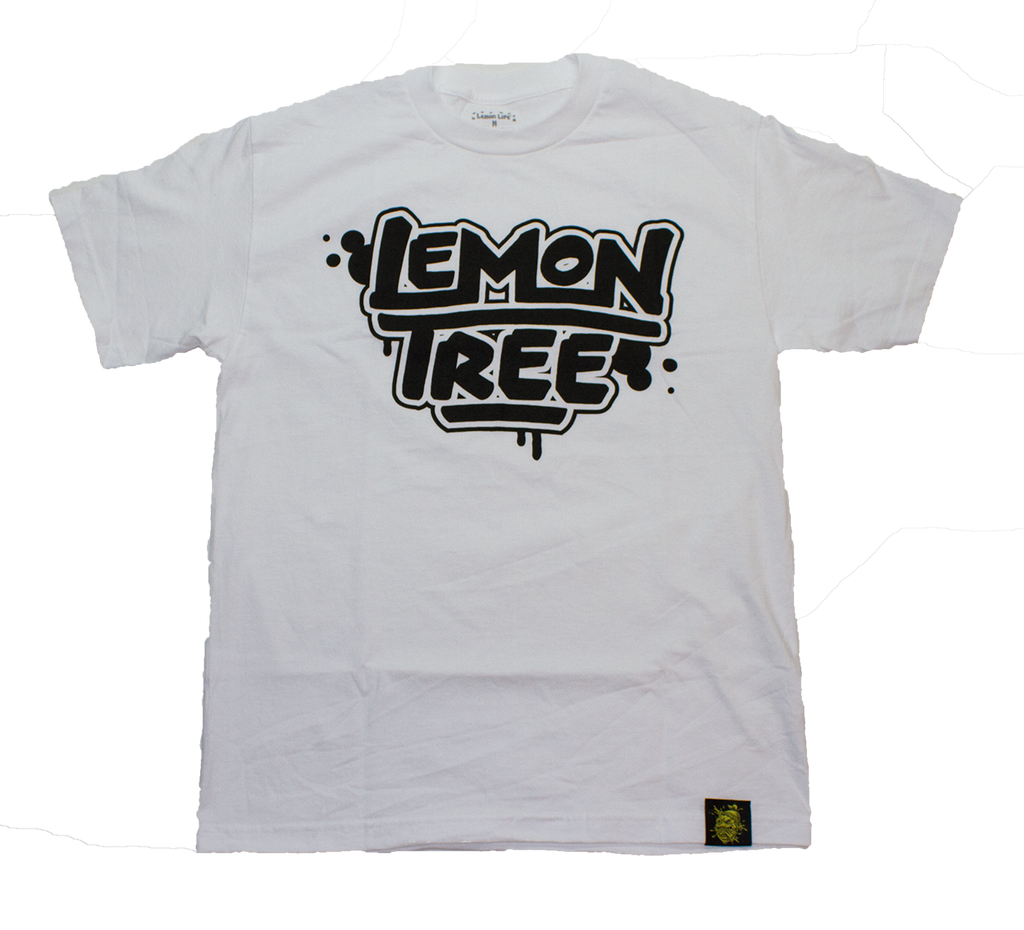Lemon Tree Tag White T-Shirt