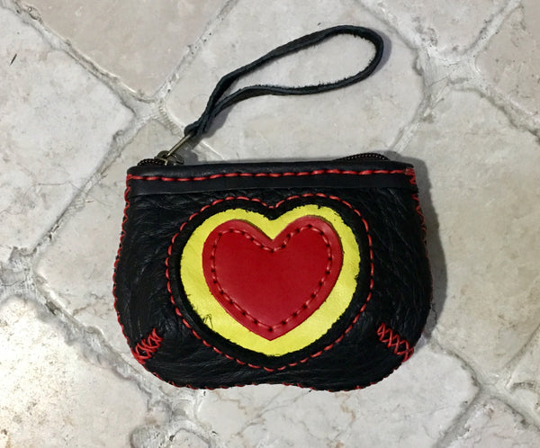 """My Love"" Leather Coin Purse"