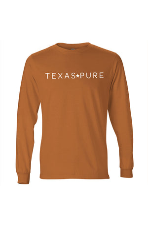 Austin Collegiate Tee - Burnt Orange Long Sleeve