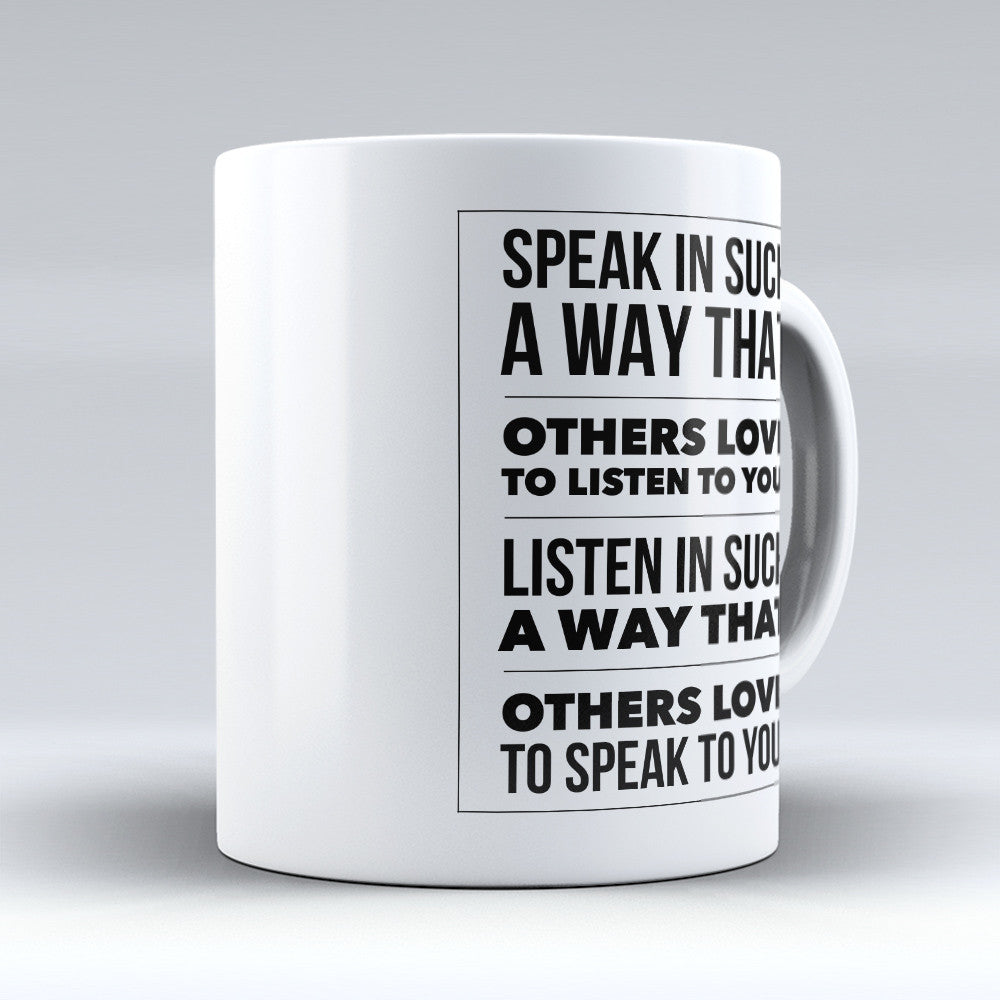 "Limited Edition - ""Listen To You"" 11oz Mug - Inspirational Quotes Mugs - Mugdom Coffee Mugs"