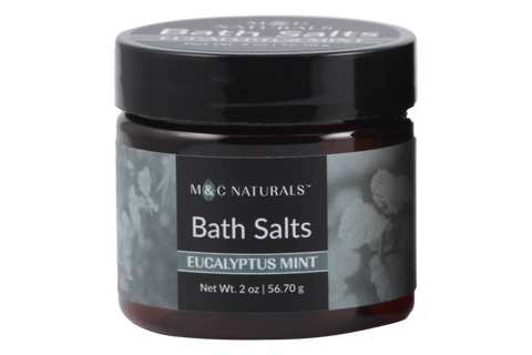 Bath Salts Mini Size (Eucalyptus Mint)