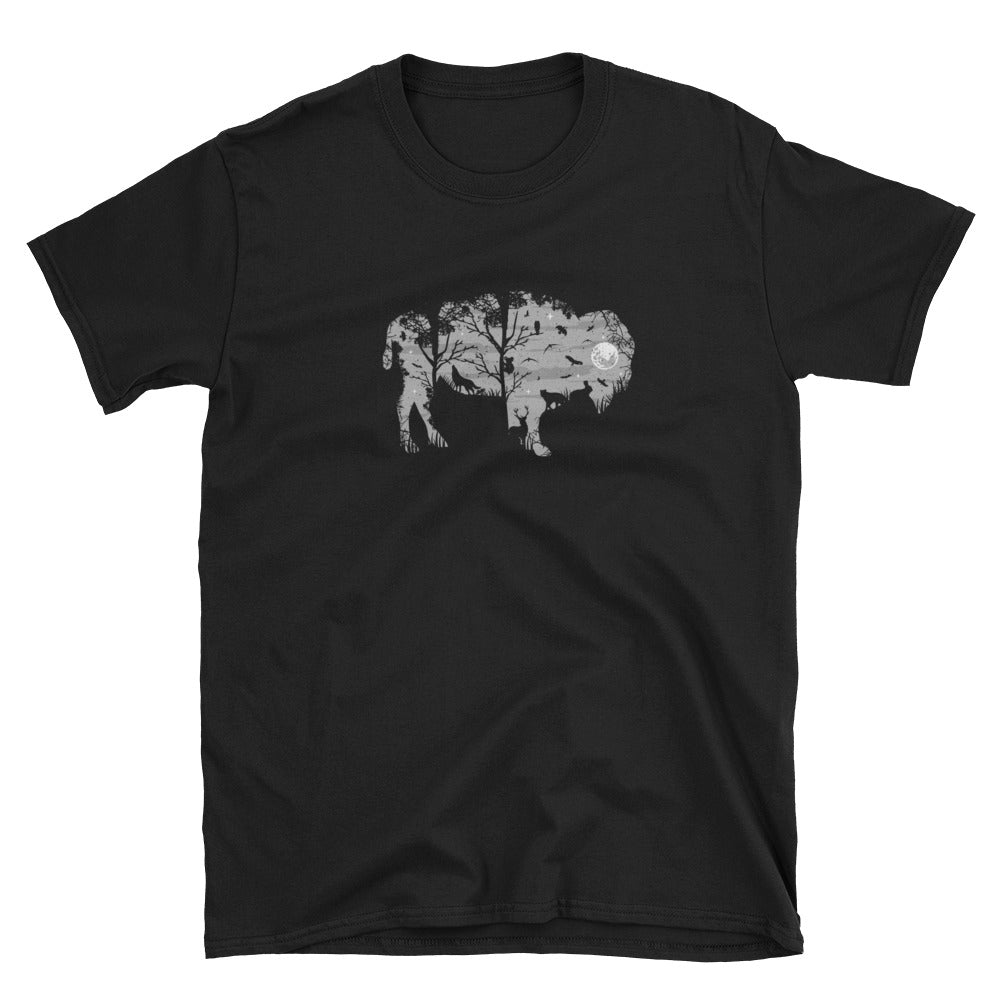 Bison In The NIght T-Shirt