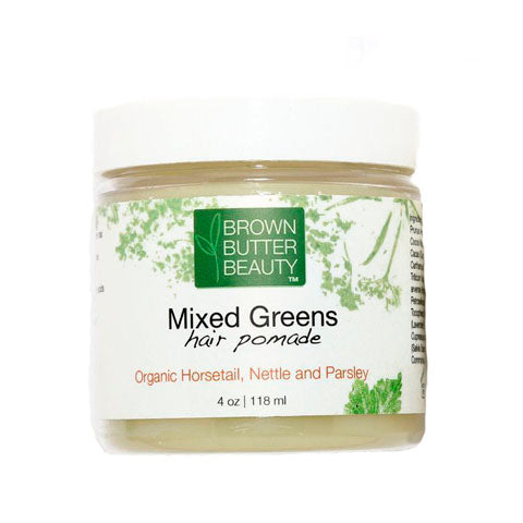 Brown Butter Beauty Mixed Greens Hair Pomade