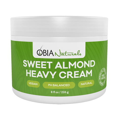 Obia Naturals Sweet Almond Heavy Cream