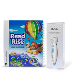 Kiitab with Read and Rise book - Anafiya Gifts