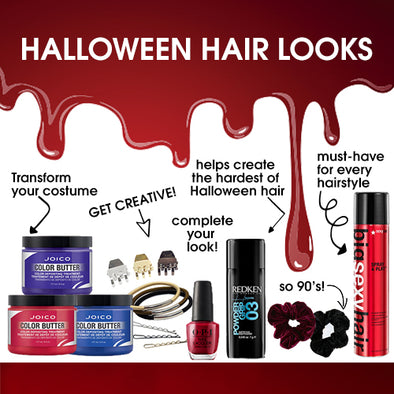 Last Minute Products To Help Achieve Your Halloween Hair Look