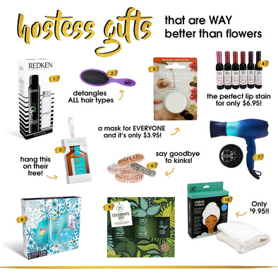 Gift Guide: Hostess Gifts That Are Way Better Than Flowers!