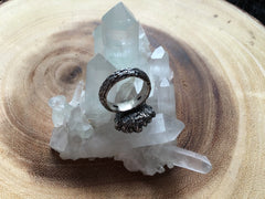 CLEARANCE - Children of the Forest Ring - Size 6.25 - OOAK