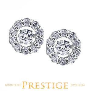 LADIES PULSE DIAMOND EARRINGS - 10KT