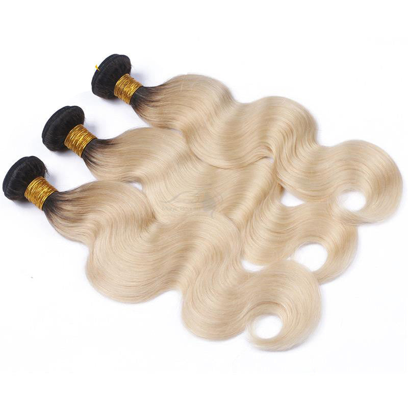 3 Platinum Blonde Bundles (1B at Roots) $215