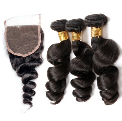 3 Bundles & Closure ( Special )