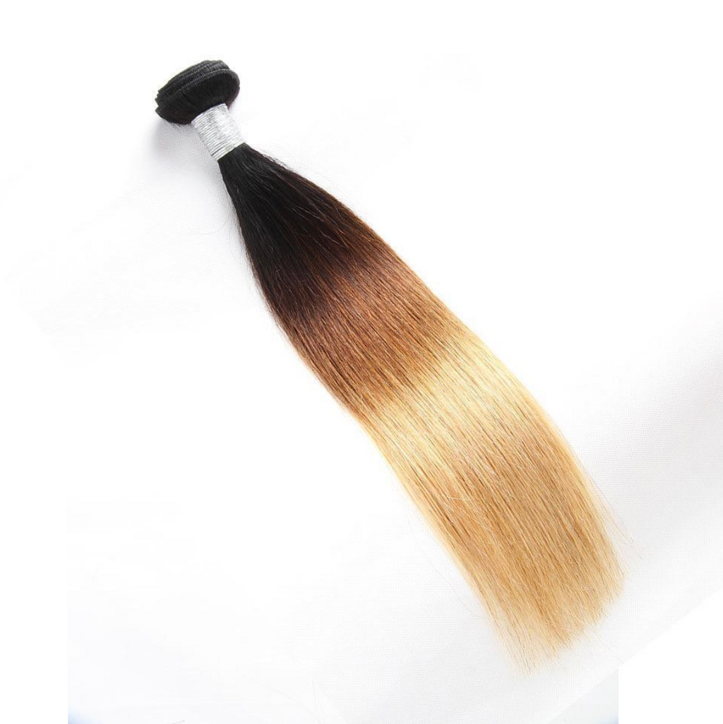 Custom Colored Straight Hair