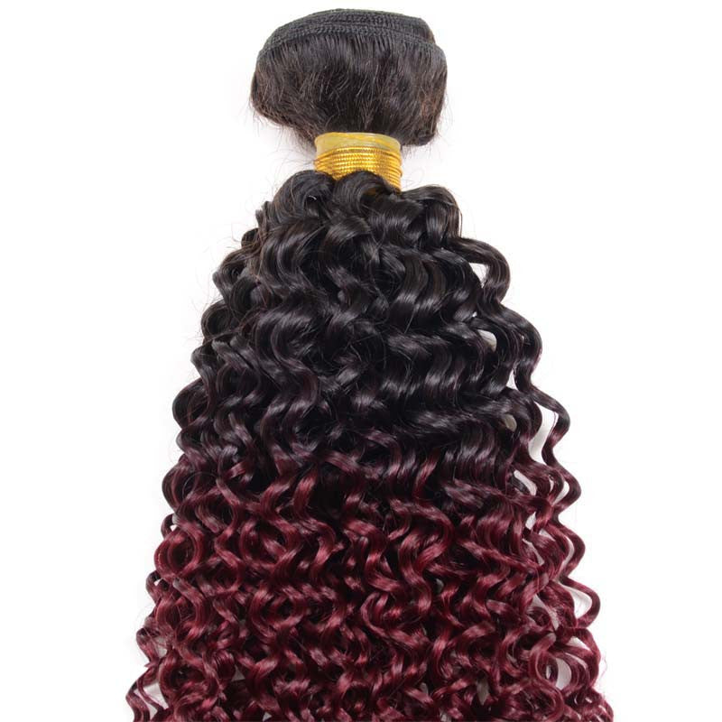 Custom Colored Curly Hair
