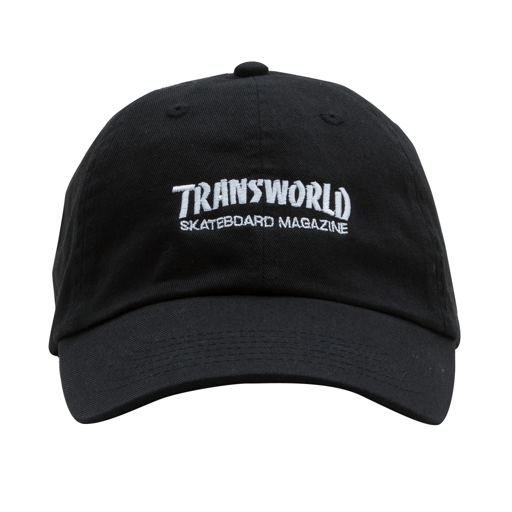 Print Wars Hat Black