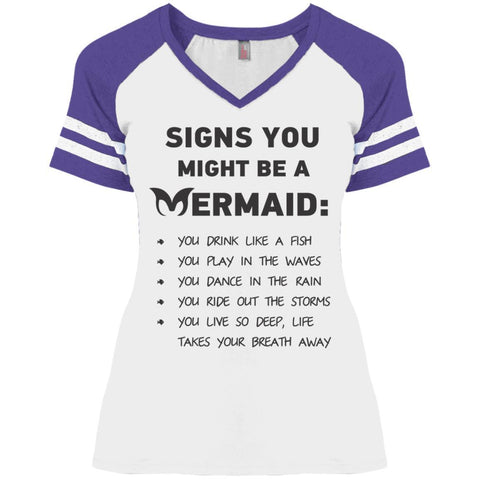 Signs You Might Be A Mermaid Ladies Shirts - Apparel - Rebel Style Shop