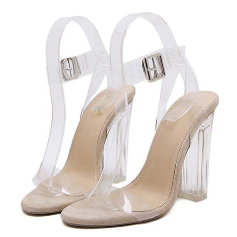 Sexy Clear Pumps - heels - Rebel Style Shop