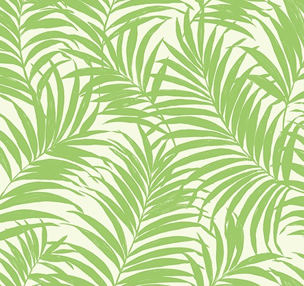 Tropical Fronds Green