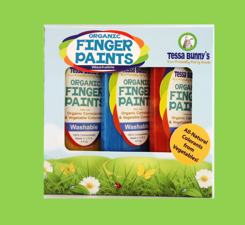Organic Finger Paints