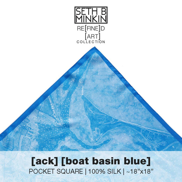 [ack] boat basin blue [silk square]