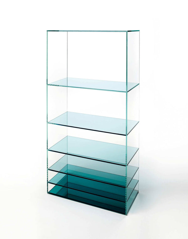 Deep Sea - Glass Bookcase by Glas Italia | JANGEORGe Interior Design