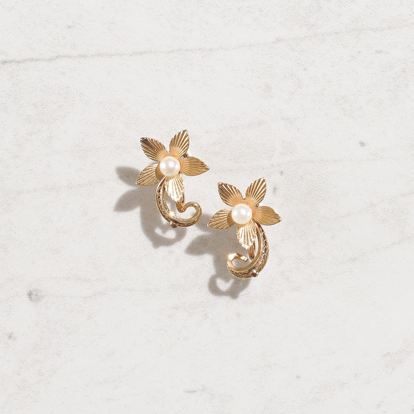 Flower Twirl (12 K Gold filled)