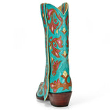 "Calla Lily 12"" Turquoise - Back at the Ranch"