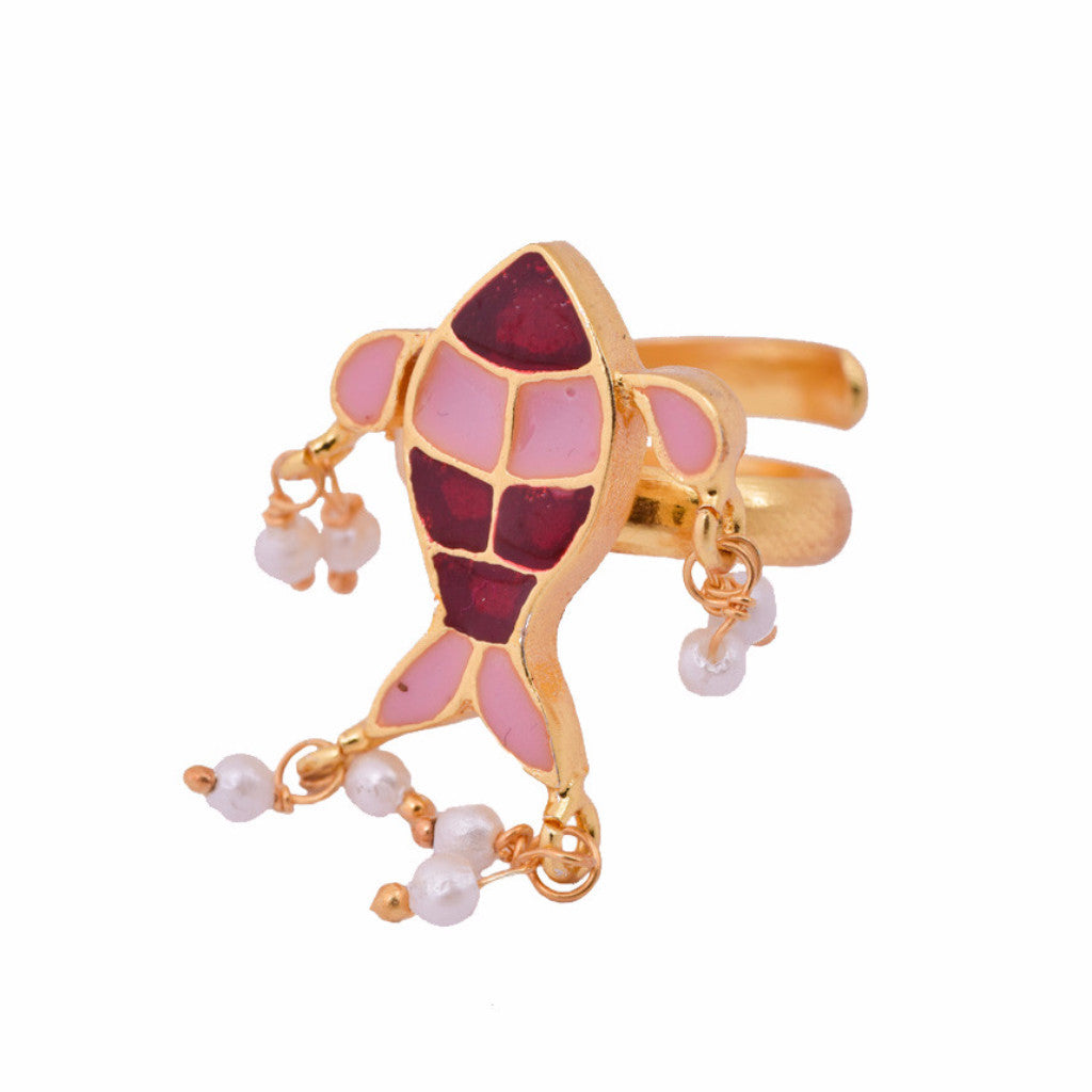 Shakuntala Little Fish Ring