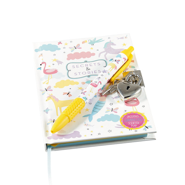 Lockable Notebook with Scented Pen Fantasy