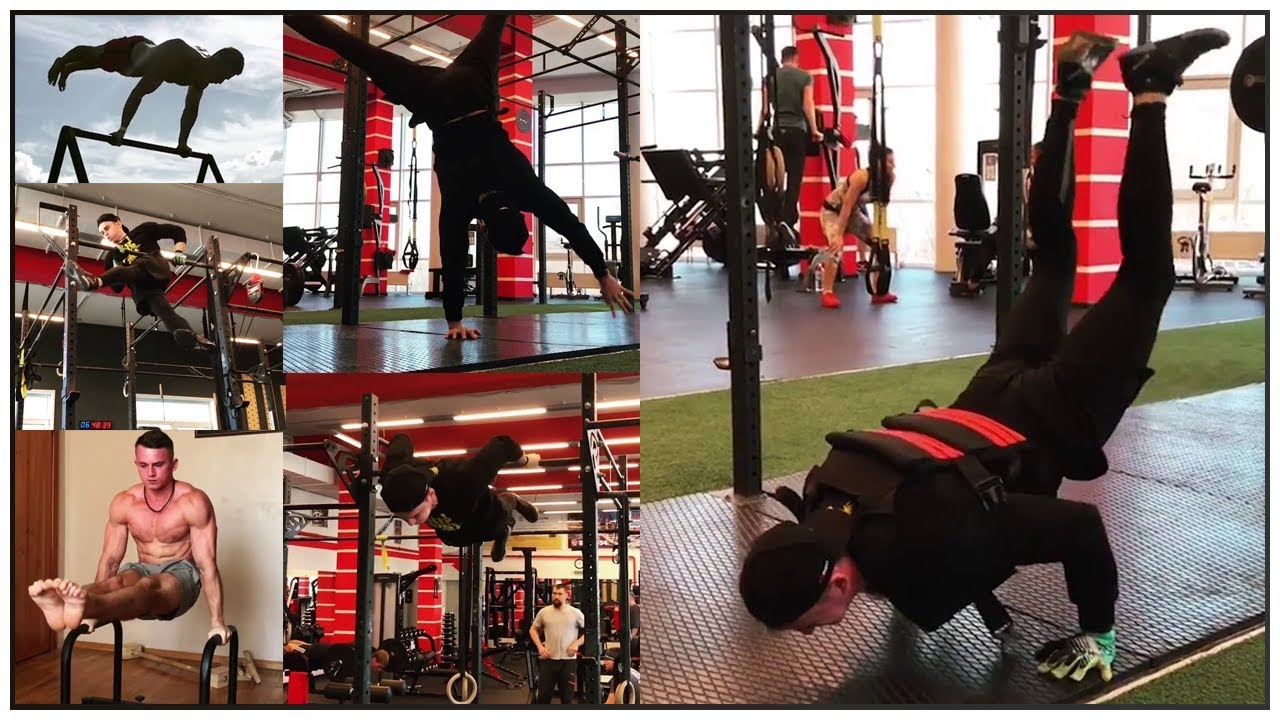Igor Kowtyn Shows Us How To Planche Like A Boss