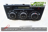 JDM 99-05 Toyota Altezza Lexus IS AC Heater Climate Control Unit SXE10 GXE10 - JDM Alliance