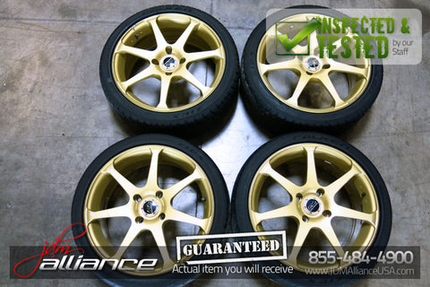 JDM Advan Model 7 AVS Wheels Rims 17x7 4x114.3 - JDM Alliance