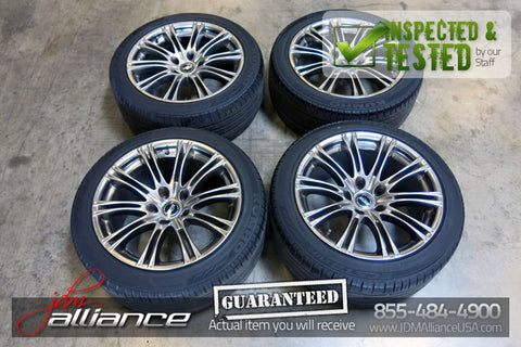 "HUZE 18"" inch Wheels 5x120 18x9.5JJ 18x8.5JJ Wheels Rims Lexus GS300 - JDM Alliance"