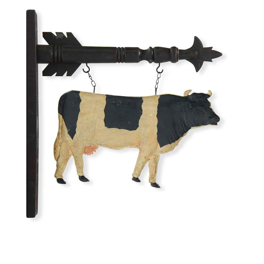 Black & White Cow Arrow Replacement