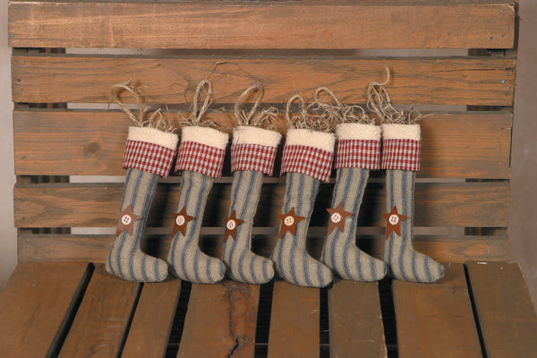 Ornament-Primitive Hanging Stocking