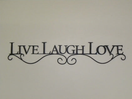 Wall Decor - Inspirational Live Laugh Love