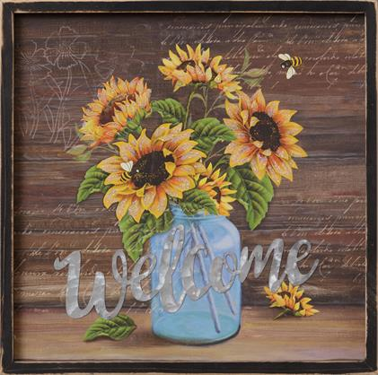 Sign - Welcome, Sunflowers